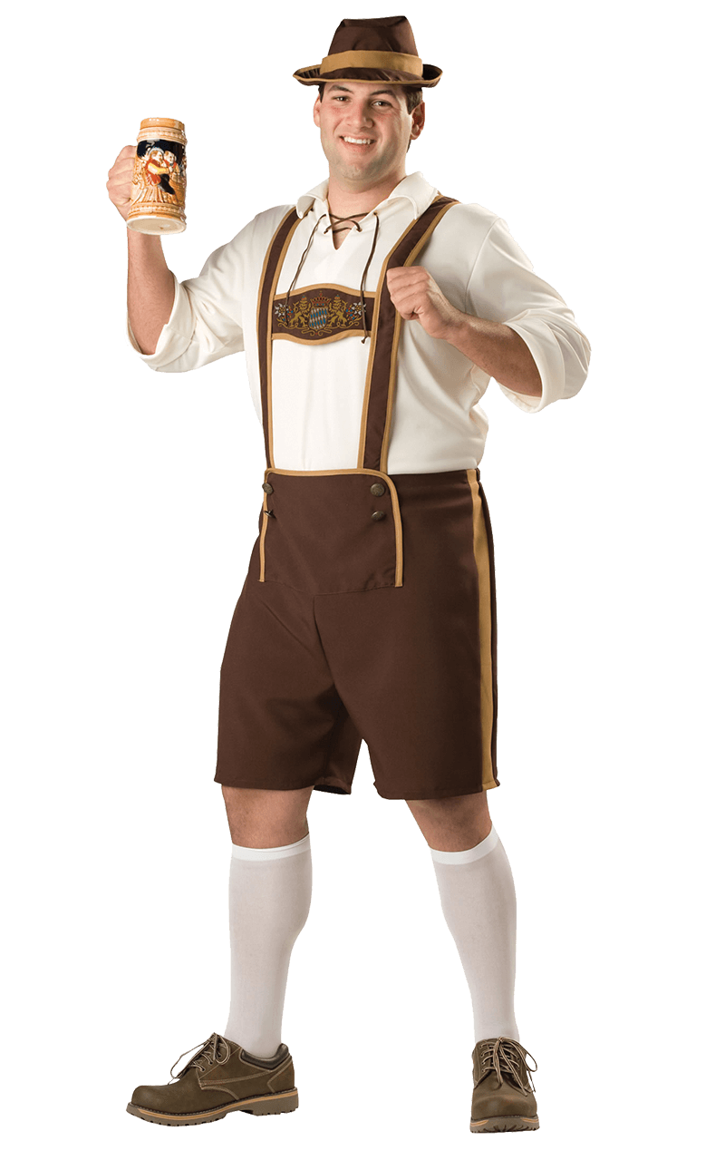 Bavarian Man (Plus Size) Costume