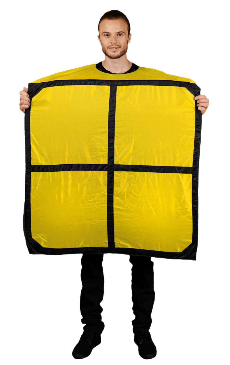 Adult Tetris O Yellow Morph Costume