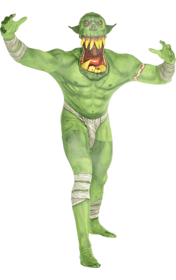 Orc Jaw Dropper Green Morphsuit