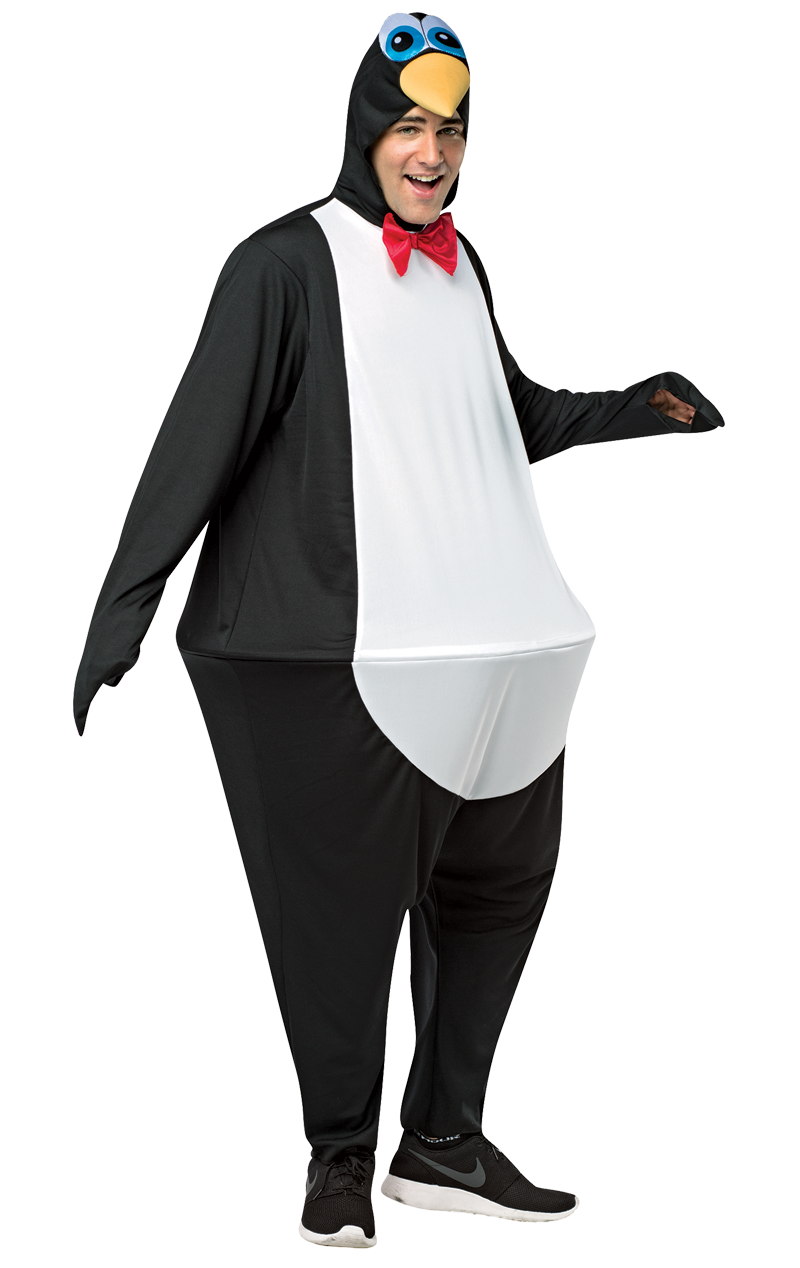 Adult Penguin Hoopster Costume