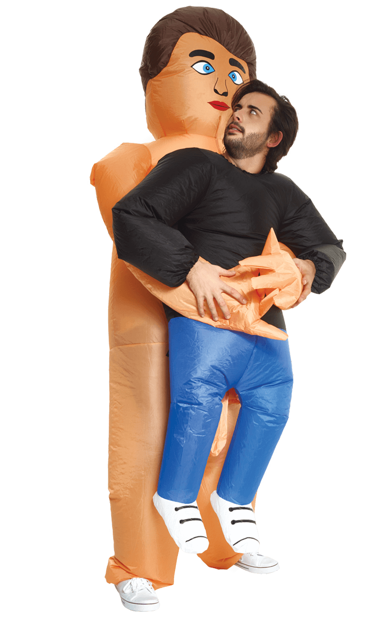 Inflatable Naked Guy Pick Up Costume