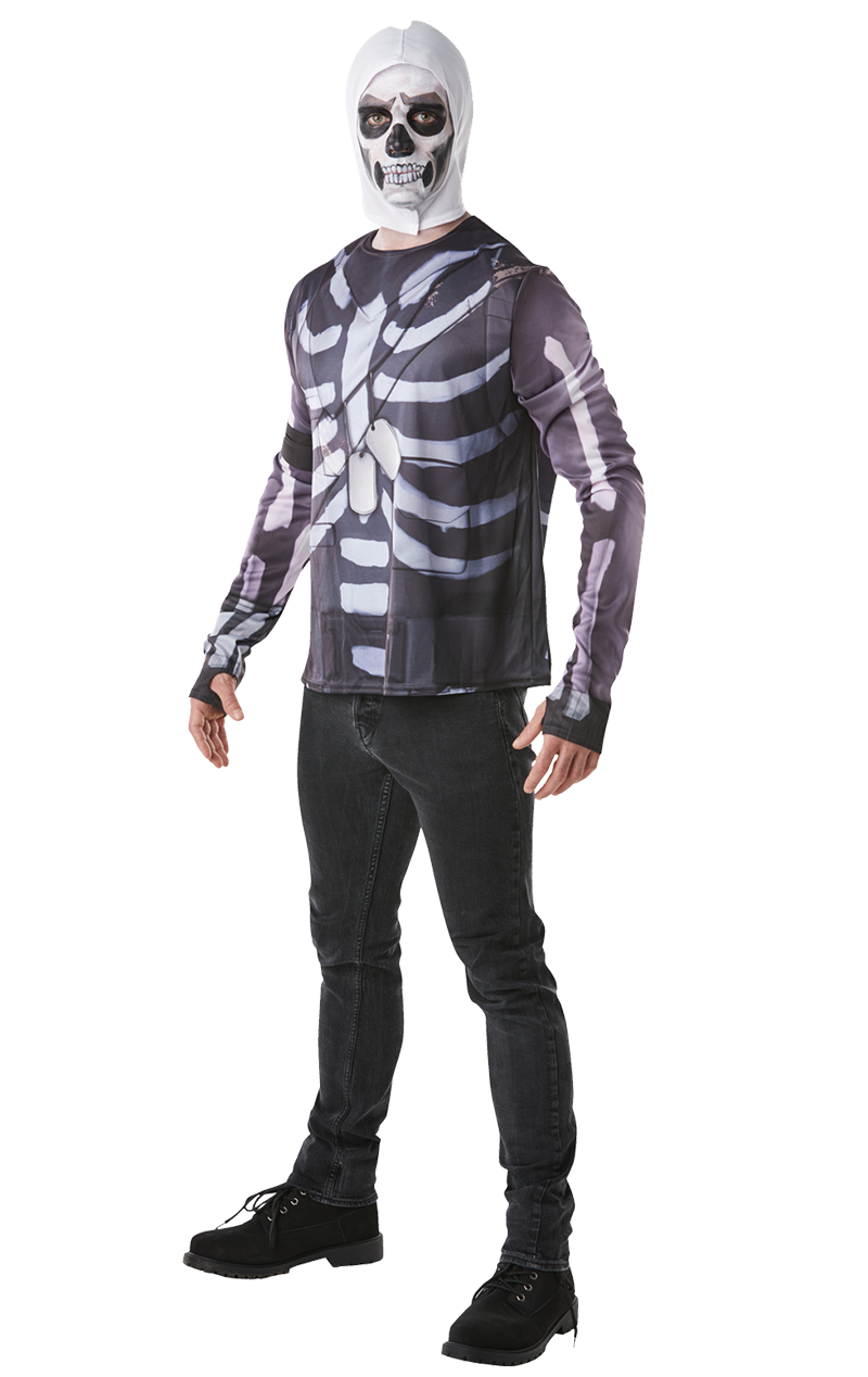 Adult Skull Trooper Fortnite Costume