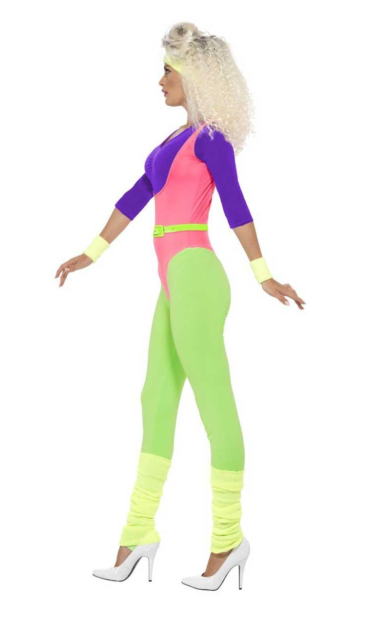 Adult 80s Work Out Costume