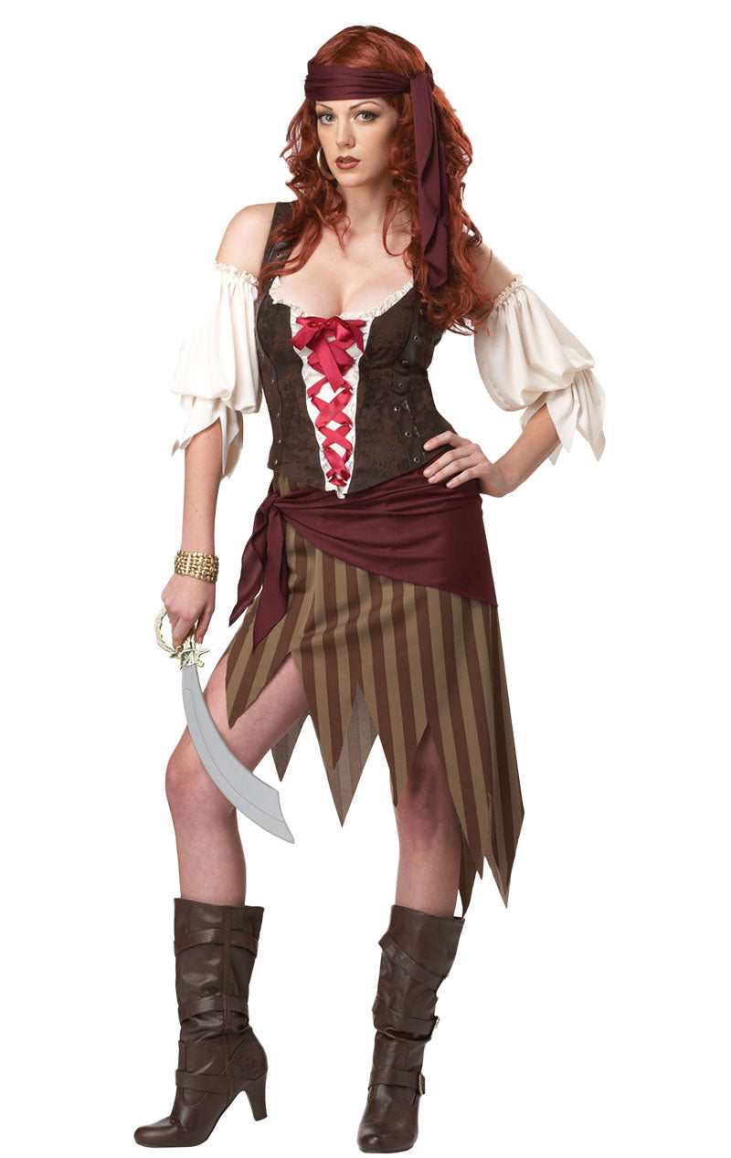 Adult Beauty Buccaneer Pirate Costume