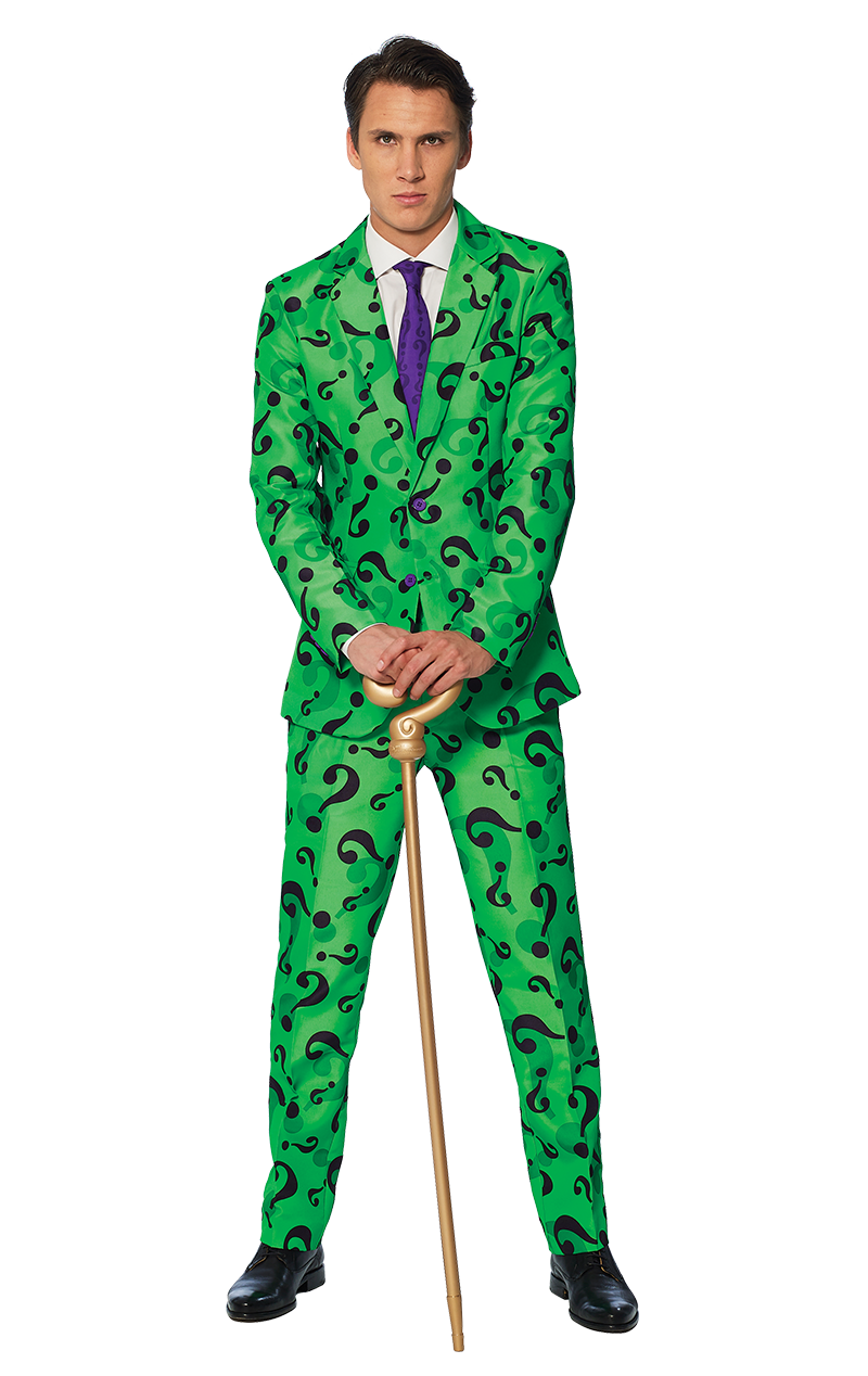 Mens The Riddler Suitmeister