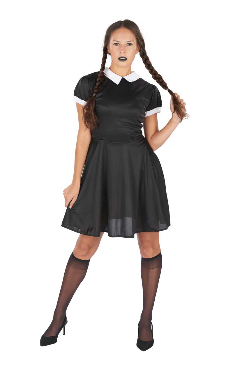 Womens Wednesday Addams Costume