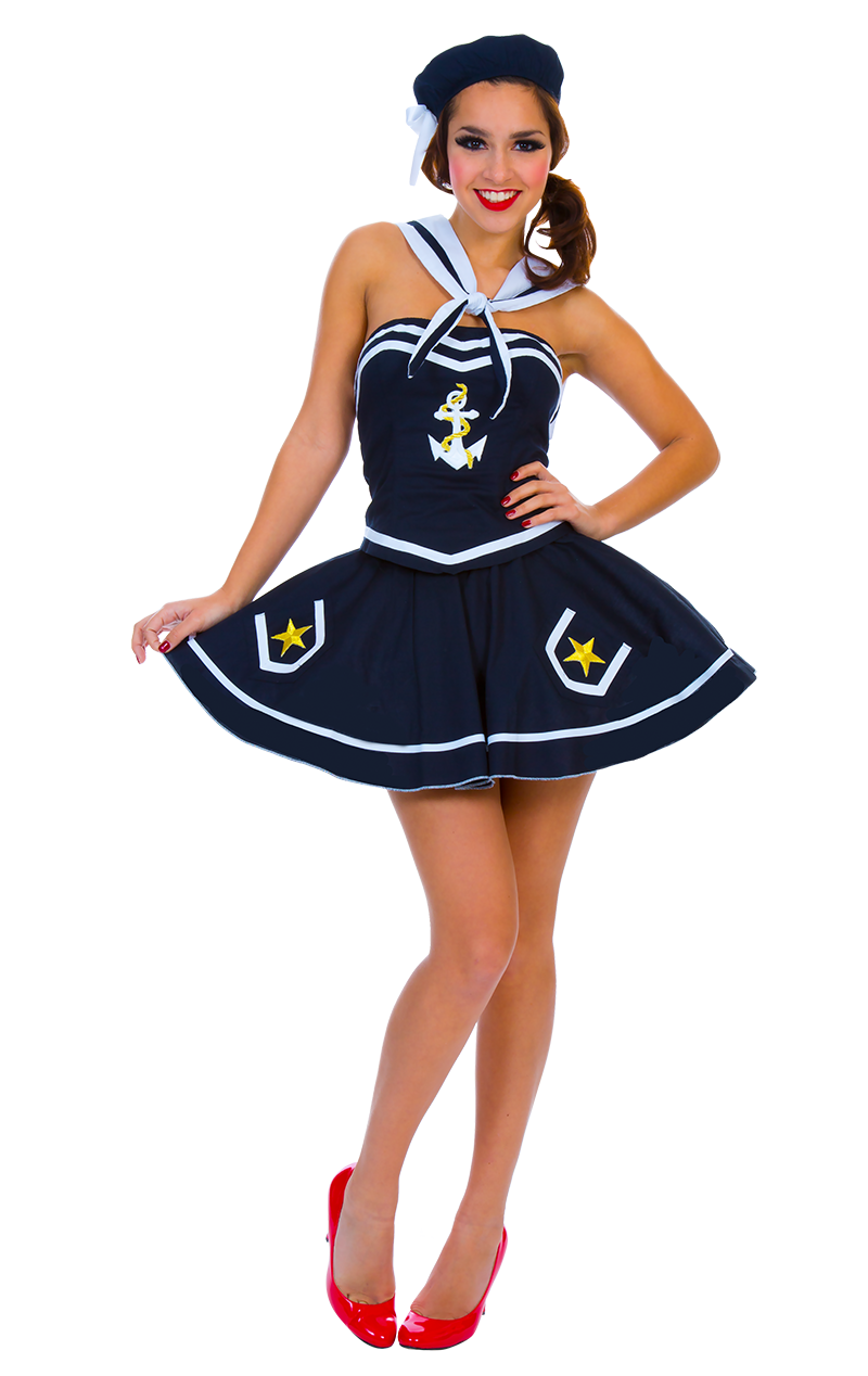 Sexy Blue Sailor Costume