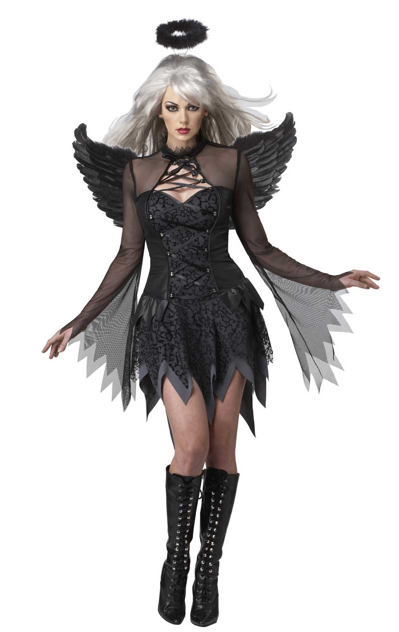 Womens Fallen Angel Halloween Costume
