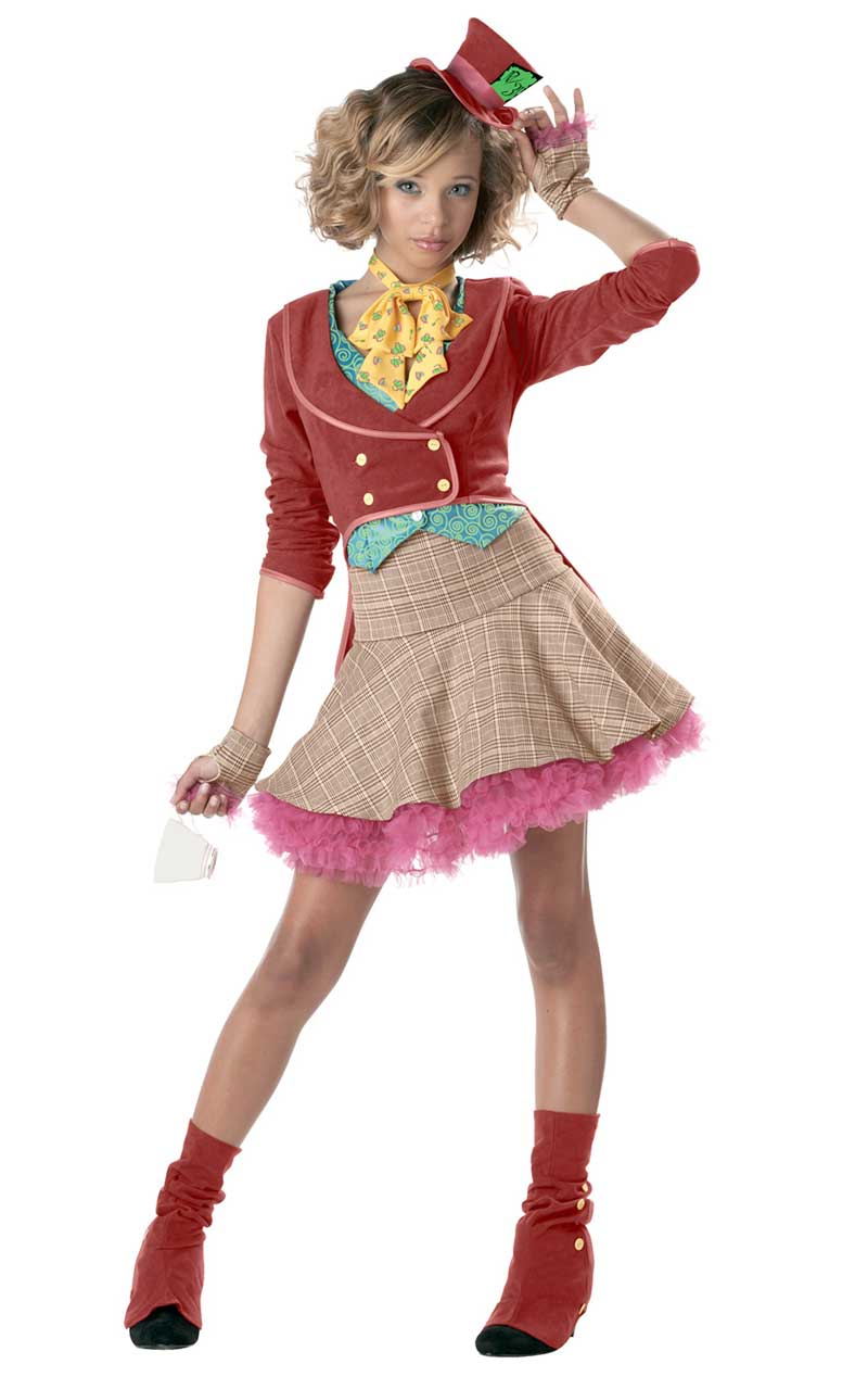Teen Mad Hatter Costume