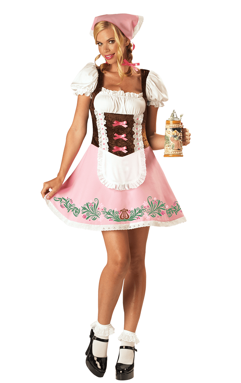 Adult Womens Flirty Fraulein Costume