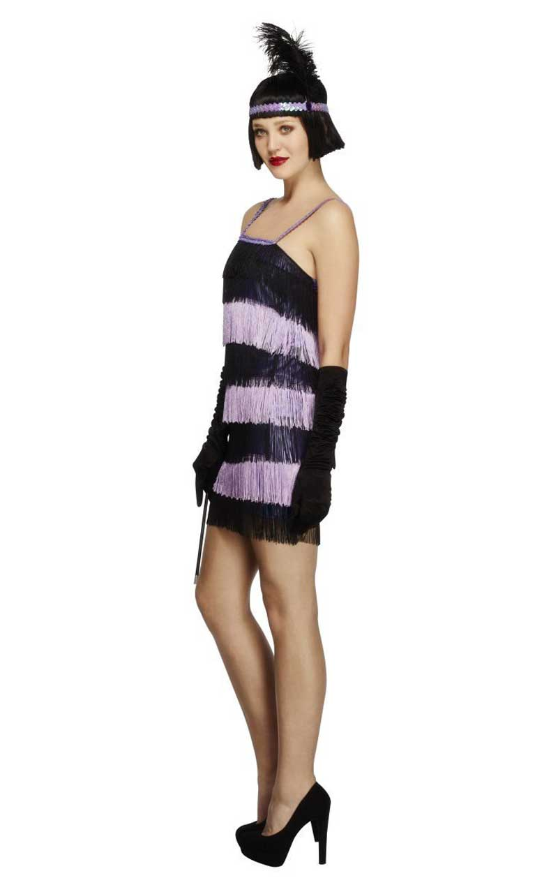 Purple Fever Flapper Costume