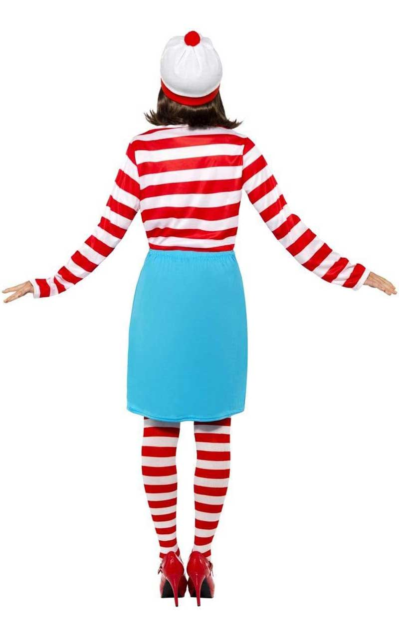 Womens Wenda Wheres Wally Costume