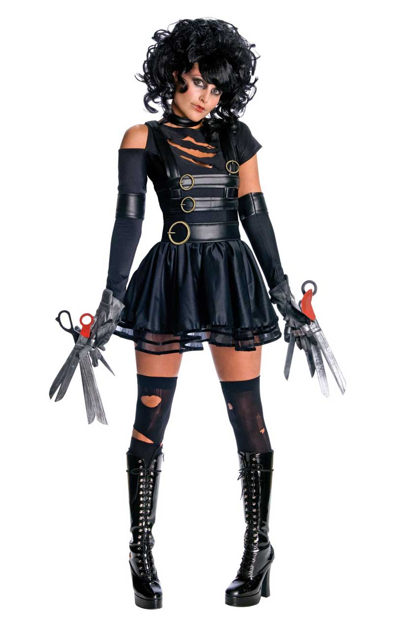 Womens Miss Edward Scissorhands Costume