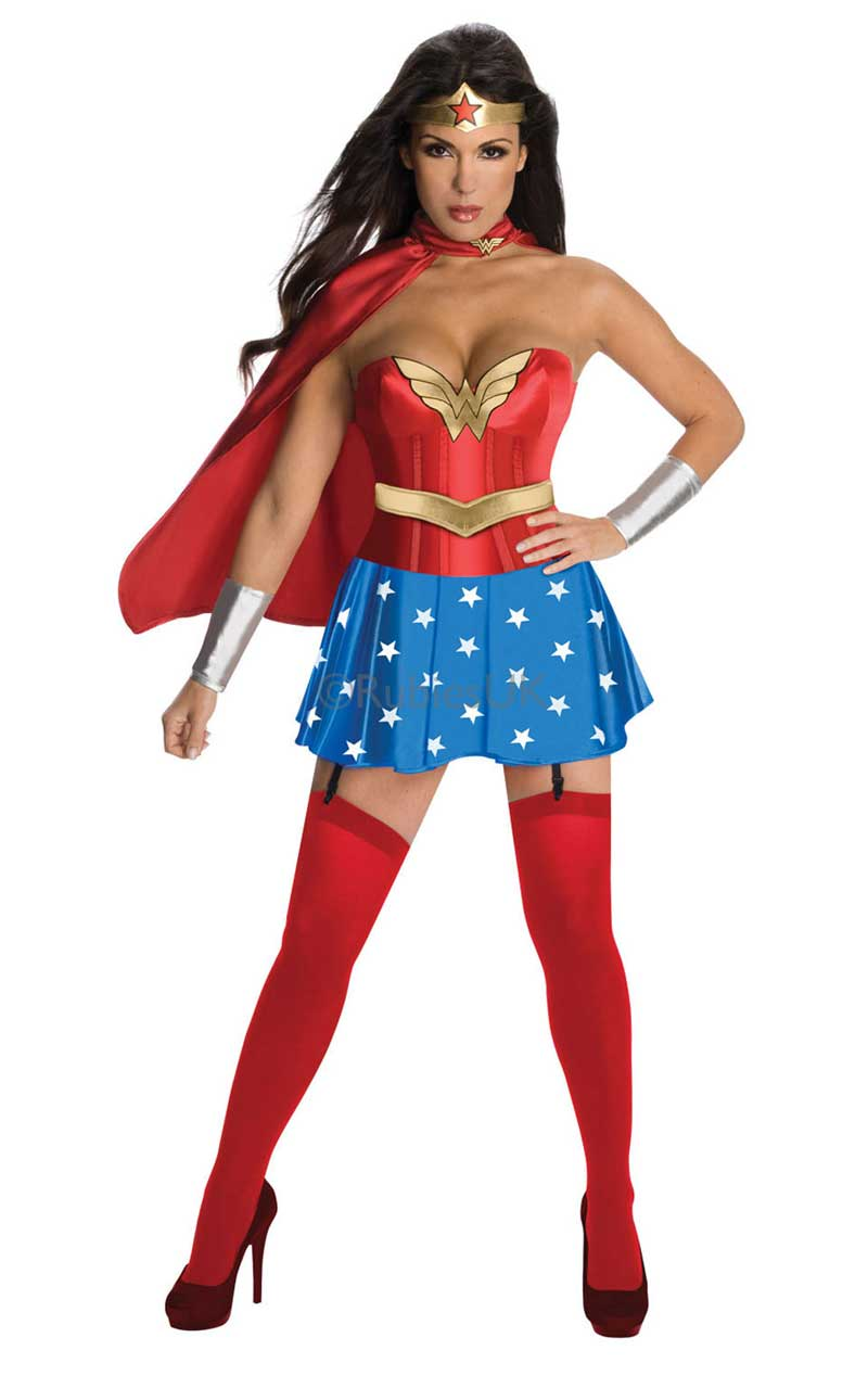 Adult Wonder Woman Deluxe Costume