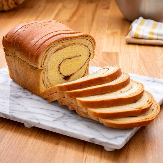 Cinnamon Swirl Bread (No Raisins)