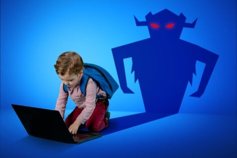 Dangers on the internet for young ones