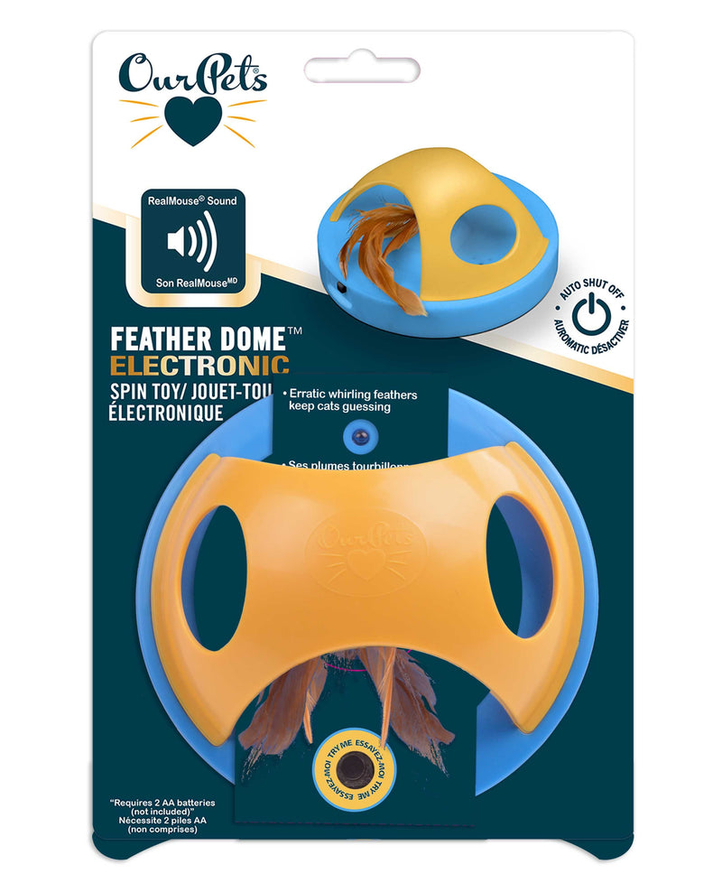 ELECTRONIC FEATHER DOME TOY