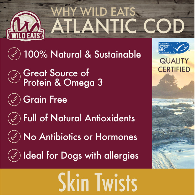 COD SKIN TWISTS - 2OZ - 2PK