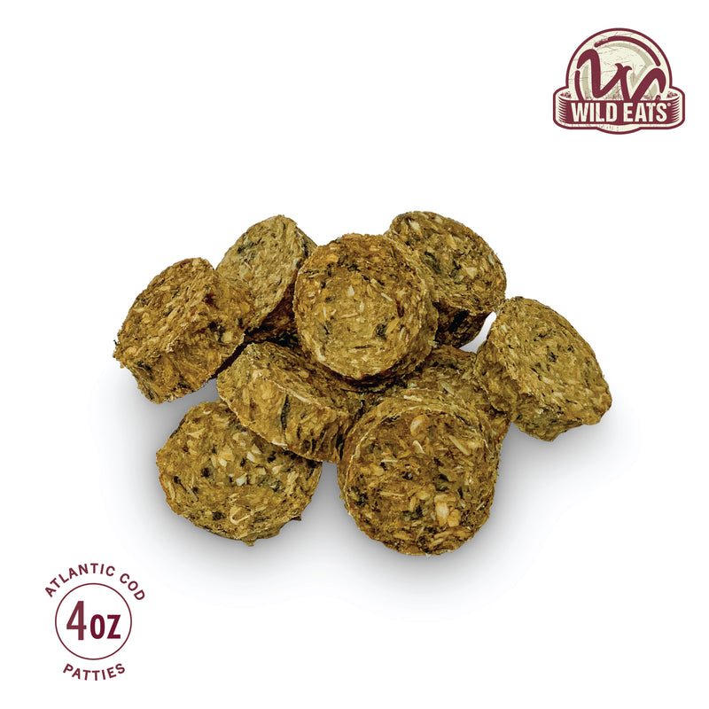 COD PATTIES - 4 OZ - 2PK