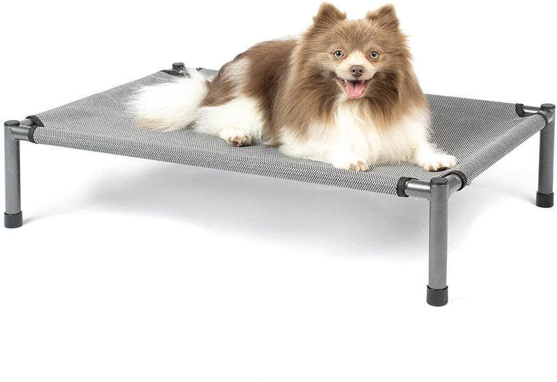 Hyper Pet Raised Rest Deluxe Elevated Dog Bed - Gray