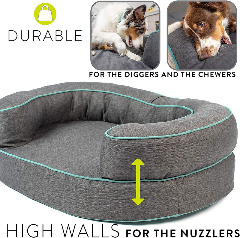 Hyper Pet Durable Dreamer Deluxe Foam Couch Dog Bed