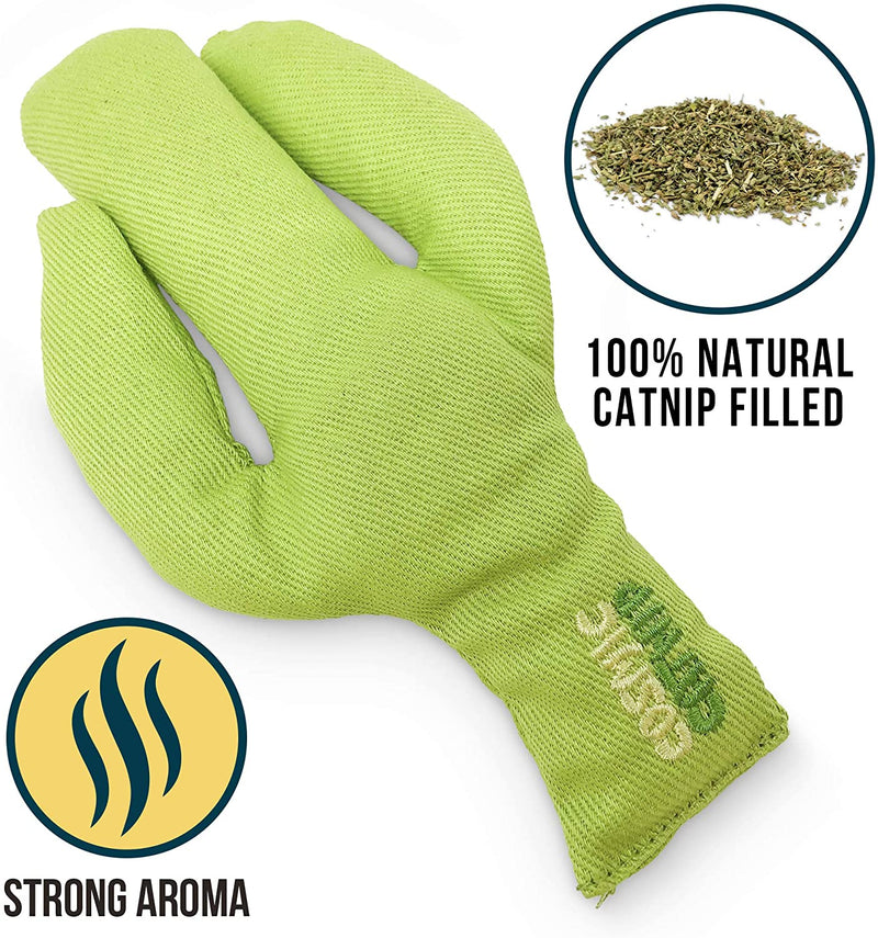 100% CATNIP FILLED - PRICKLES CACTUS TOY