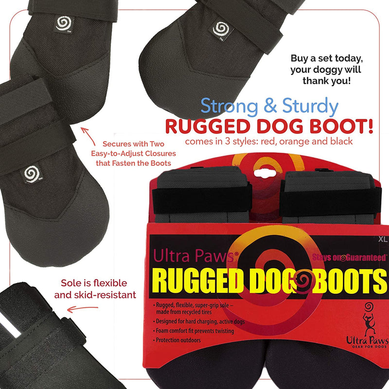 RUGGED BOOT, BLACK, SMALL