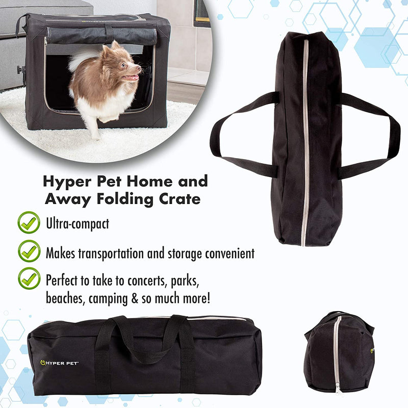 HOME-N-AWAY FOLDING CRATE - SMALL