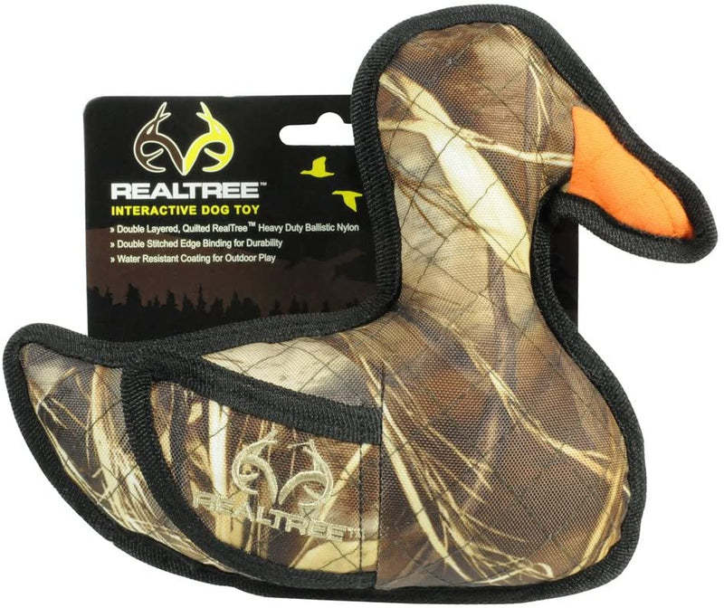 REALTREE INTERACTIVE DOG TOY - DUCK