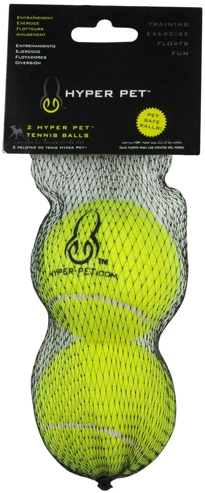 TENNIS BALLS FOR DOGS - 2 PACK - GREEN