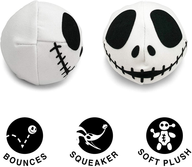 DISNEY'S NIGHTMARE BEFORE CHRISTMAS - JACK SKELLINGTON SQUEAKING BALL
