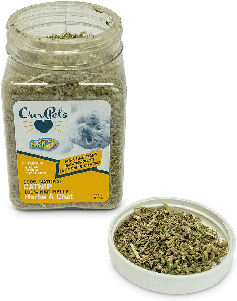 100% NATURAL CATNIP - JAR- 1.25 OZ