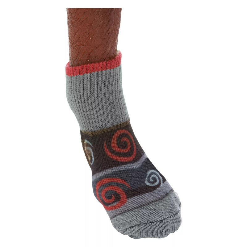 ULTRA DOGGIE SOCKS, OAKLEY, GREY/RED, XSMALL
