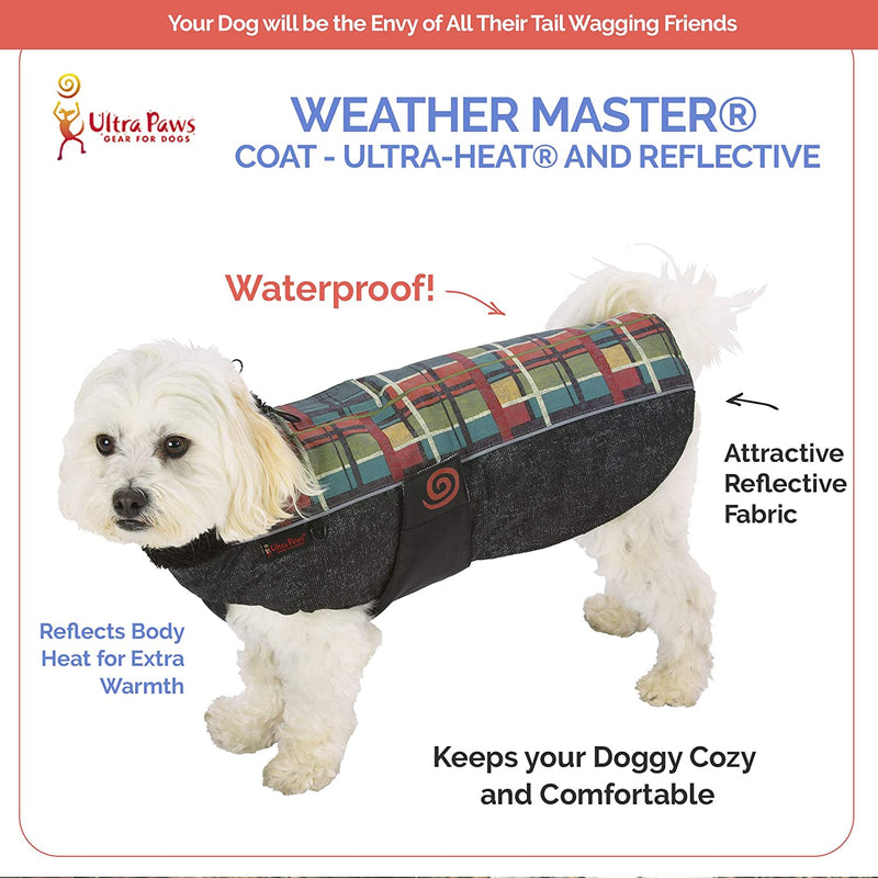 WEATHER MASTER® COAT, FOREST PLAID, XLARGE