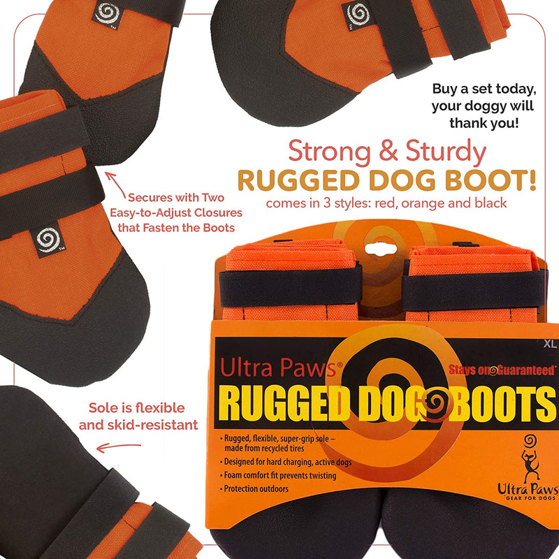 RUGGED BOOT, ORANGE, SMALL