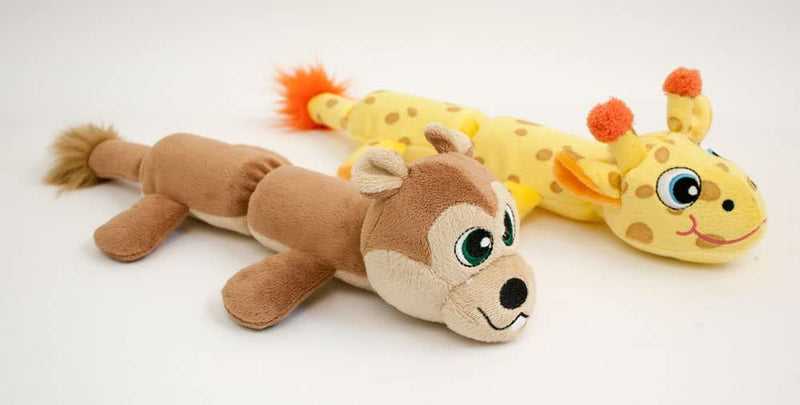 COZY CRITTER SKINZ - SQUIRREL WITH 2 SQUEAKERS