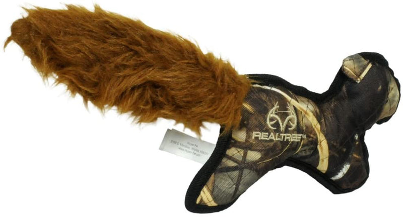 REALTREE INTERACTIVE DOG TOY - SQUIRREL