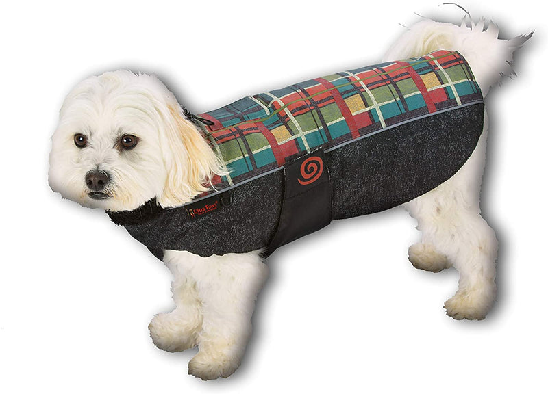 WEATHER MASTER® COAT, FOREST PLAID, XSMALL