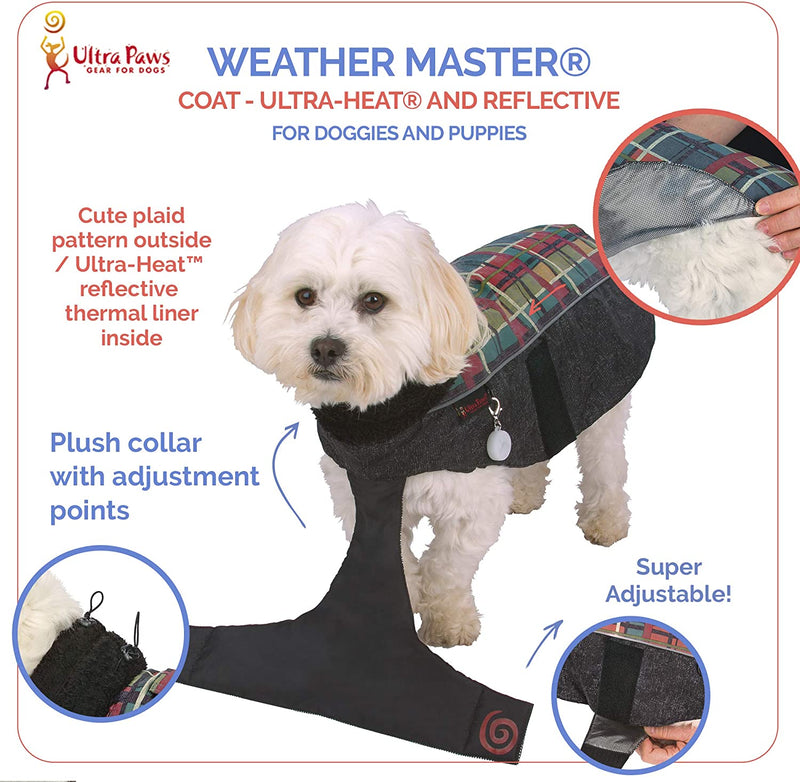 WEATHER MASTER® COAT, FOREST PLAID, XPETITE