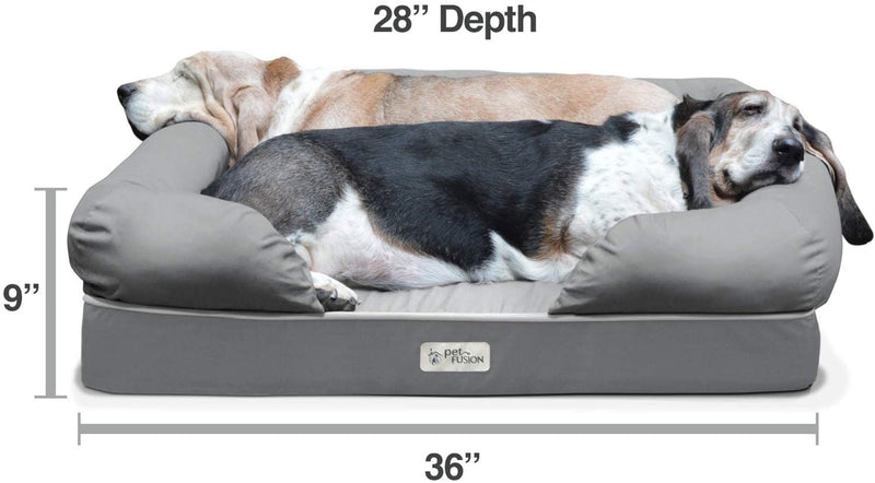 PetFusion | Ultimate Dog Lounge | L | Brown