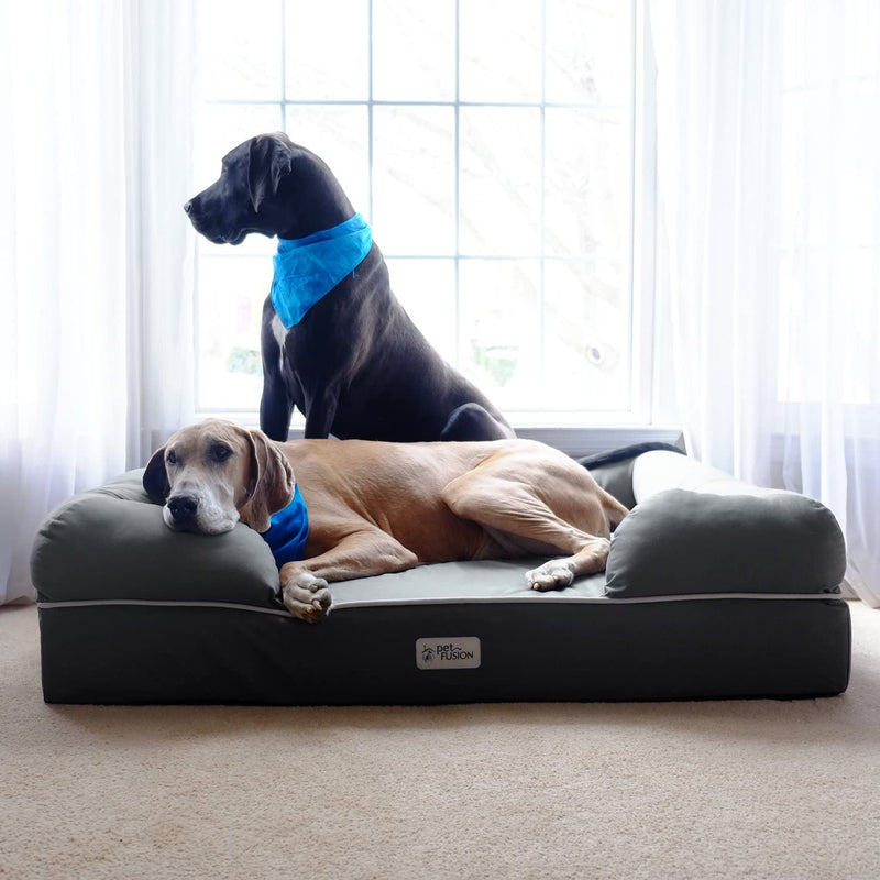 PetFusion | Ultimate Dog Lounge | Jumbo XXL | Gray