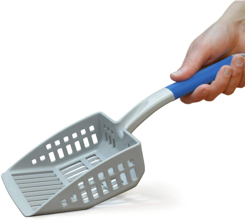PetFusion | QuickScoop Non-Stick Litter Scoop | Gray