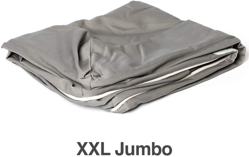 PetFusion | Cover for Ultimate Dog Lounge | Jumbo XXL | Gray