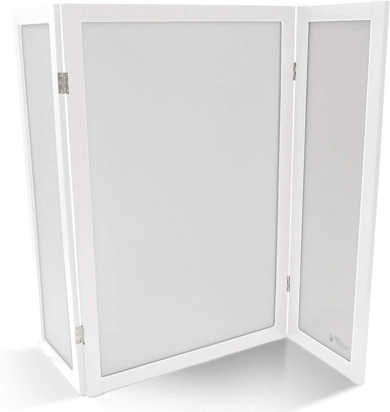 PetFusion | Modest Cat Litter Box Privacy Screen | White