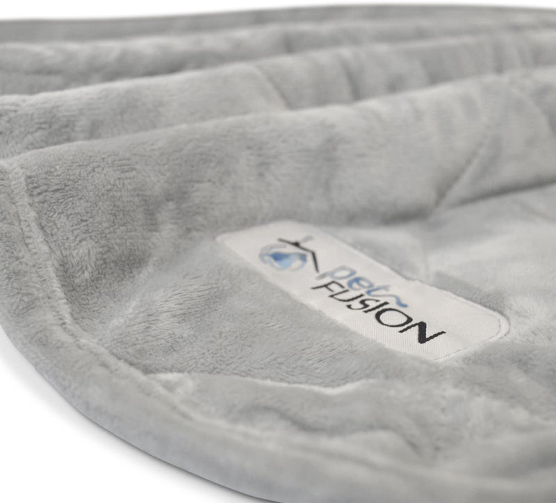 PetFusion | Microplush Quilted Pet Blanket | XL | Gray