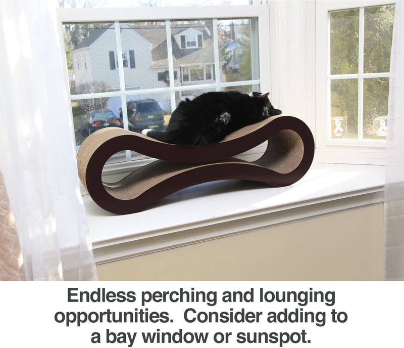 PetFusion | Ultimate Cat Scratcher Lounge | Slate Gray