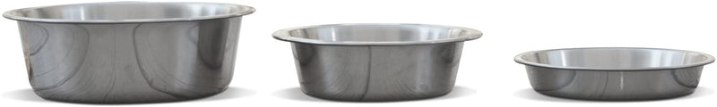 Brushed Stainless Steel Bowl (Short - 24 oz)