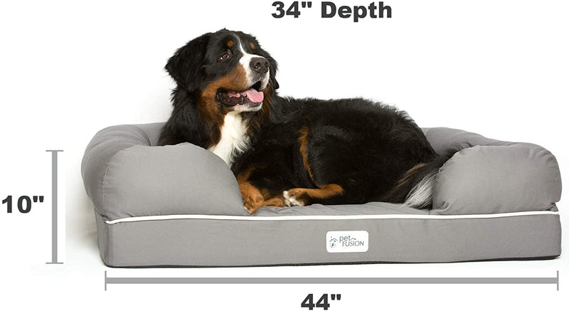 PetFusion | Ultimate Dog Lounge | XL | Gray
