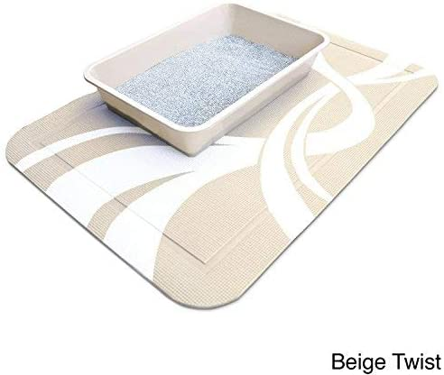 SmartGrip Cat Litter Mat (Beige Twist)