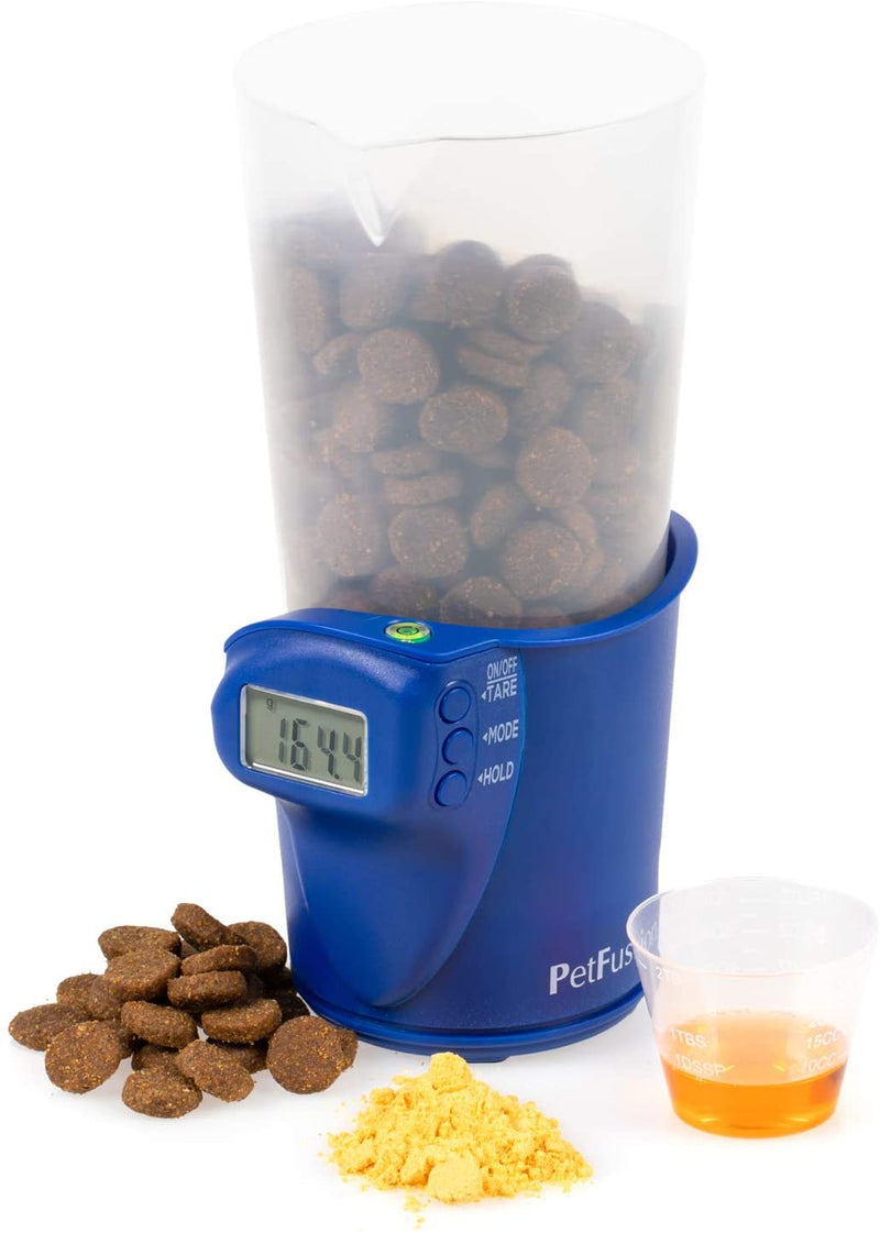 Digital pet food scoop & scale (2 cup)